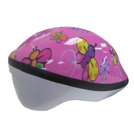 pink butterflies toddler helmet