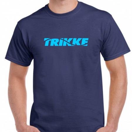 Trikke t-shirt blue-blue