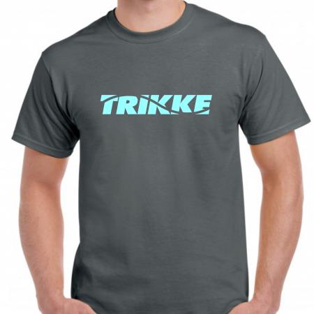 Trikke t-shirt gray-blue