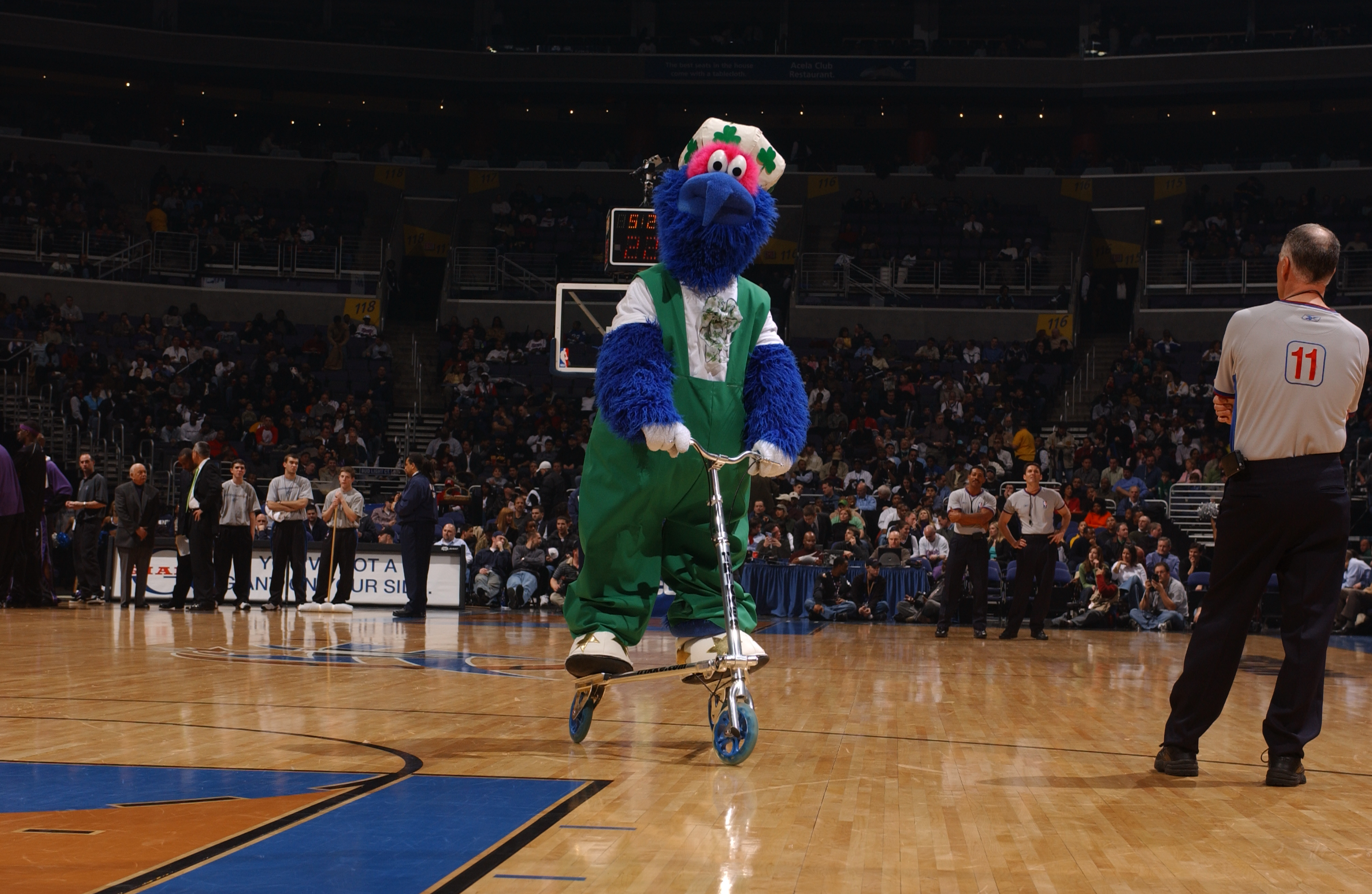 Wizards Mascot