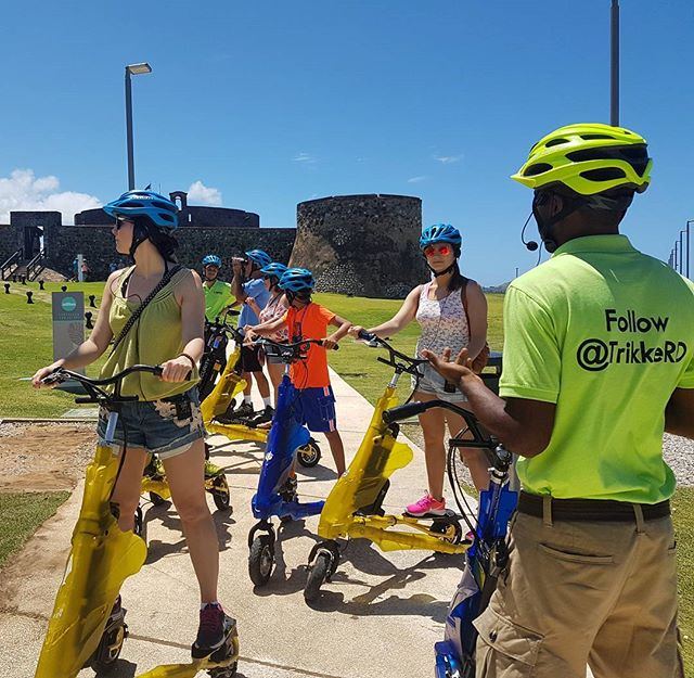 Trikke Tours DOminican Republic